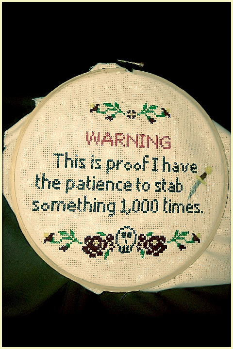 WARNING! This is proof that I have the patience to stab someone 1,000 times. Never forget that you're always on my mind... | #funny #quotes #motivational #relationships #relatable