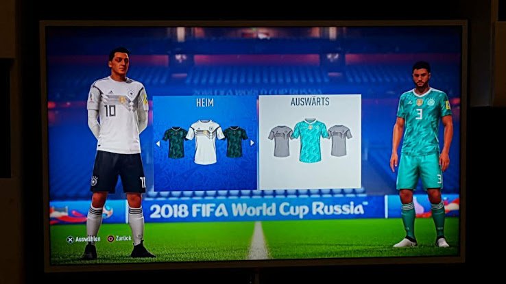90e169ea5eb Germany 2018 World Cup Away Kit to Be Combined With Green Short Because Of FIFA  Kit Regulations