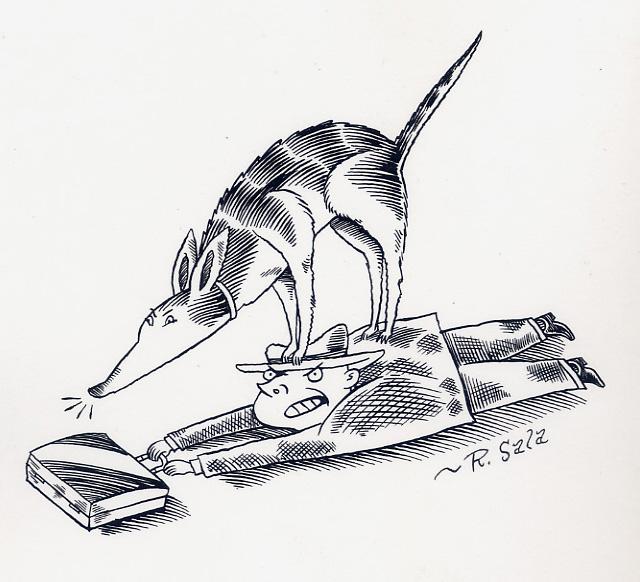 Here Lies RICHARD SALA: Gallery of (Spot) Illustration Art
