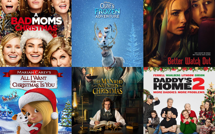 Watch Bad Moms Christmas.Fox And Spice New Winter Christmas Movies 2017 Theaters Dvd
