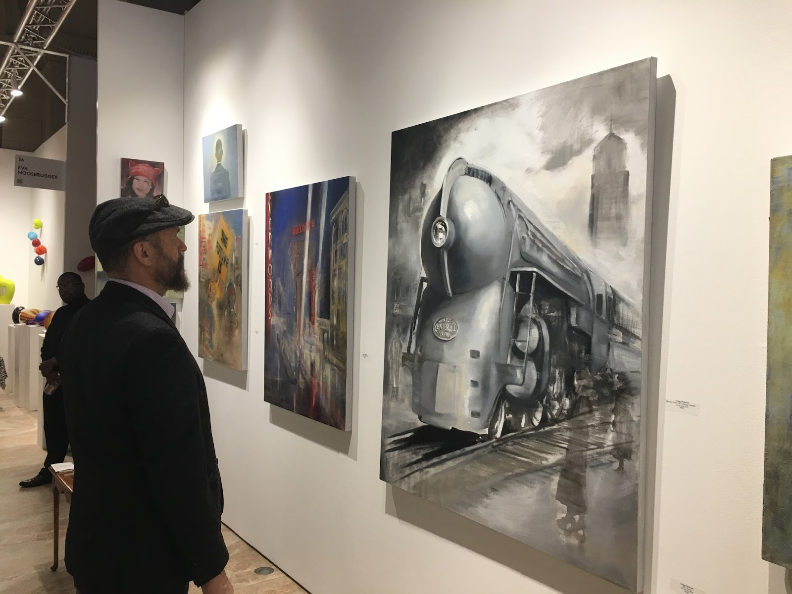 Speed Of Life Mystery Train At The Other Art Fair