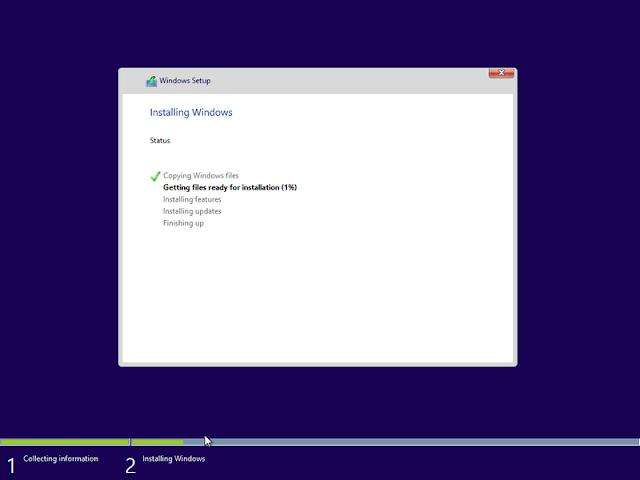 cara instal windows 10 di laptop baru