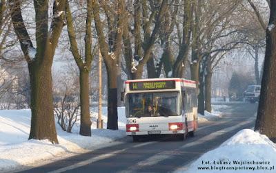 MAN NL222 nr 106 z MZK Kędzierzyn-Koźle