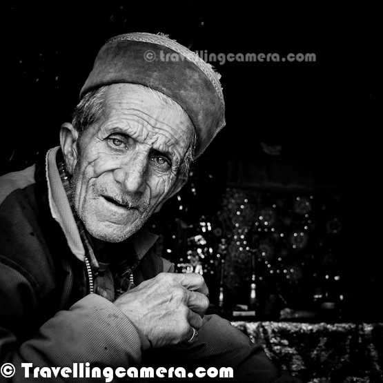 "This is my third post about Himachali songs. For the first two posts, click the following links: Part 1 and Part 2. One good thing about writing this series is that it has made me read a bit about Himachali Music. And what I read is quite fascinating. Apparently when it comes to vocals, there is a variety; some of these do not require a musical instrument as an accompaniment. The songs that I heard during the wedding were most probably Samskara, which are sung by women during celebrations and festivals. These are beautiful to hear and women here all seem to sing in perfect sync and always in tune. Then there is Jhoori, which is supposed to be a celebration of extramarital love. I am intrigued, but am not sure whether I have heard any such song. Will probably need more research. There is Laman, which are again love songs. Then there is Jhanjhotis, that are during weddings (Kunju-Chanchalo is an example), and Ainchaliyan, which are religious songs.   Anyway, continuing the tradition with these posts, let's listen to a few more Himachali songs here.      I have heard several devotional songs about Shiv ji and many of them tell stories. In my earlier posts in this series, I have covered ""Hun wo kataai"" and ""Shiv Kailashon ke Waasi"". In this post, I am going to talk about another song ""Dhudu Nacheya"", which talks about Shiv-Parvati ji and Ganga. This version is by Abhigya the Band.     My favorite lines from the song:  Ganga gaura saro sar ladi ho Toote har chaurasi padi ho  Ganga lai gya bhaghirat Chala ho  Dhudua rahi gya kele ma Kela ho Gaura Pete peed machai ho    This was absolutely the first Himachali song that I heard and I found it amazing that Himachali people could find romance in mundane stuff like someone's sheep grazing. The choice of words (""chugdi"" for grazing) is also cute and paints a very pretty picture indeed.       My favorite lines from the song: Panchchi udade ho lambiyaan udaaraan Neelima Panchchi udade ho lambiyaan udaaraan Neelima Dil milde ho jare jamana Neelima Bheda teriyaan ho chugdiyaan phaat Neelima    Not sure why this photograph reminds me of the song ""Kaali Gagri"". May be because it reminds me how remote some of the villages in Himachal really are and if your loved one happens to have a job in cities like Shimla and Chamba, then you will only get to meet them once in a while. The sense of longing is palpable in this song and the soft, slow rhythm complements the lyrics perfectly. This version is by Jasleen Aulakh, an exceptionally talented musician, and she manages to record live orchestra. Must watch for sure....     My favorite lines from the song: सौंड़ महीना ए बरखा बहारा हवा-पानी सोगिया ये ठंडीयां फुहारा ठंडीयां फुहारा हाए अति राती जो द्वार मेरा खड़का जिन्दे काले बदला जो बिजली कड़का जिन्दे काली घगरी ले आया ओ हाए काली घगरी ले आया ओ काली घगरी ले आया ओ  I will soon be back with another post in this series. Hope you are enjoying these songs. I am trying my best to include as many musicians as possible here because each of them has a unique style and as a result each rendition of a song has a different feel."