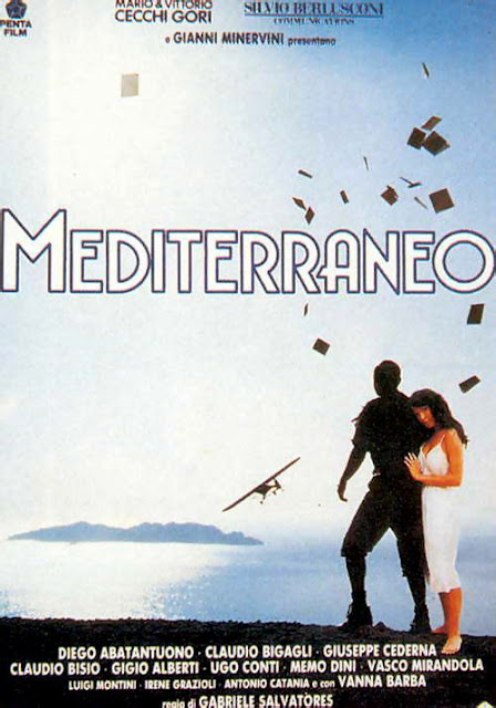 "Movie poster for  ""Mediterraneo"""