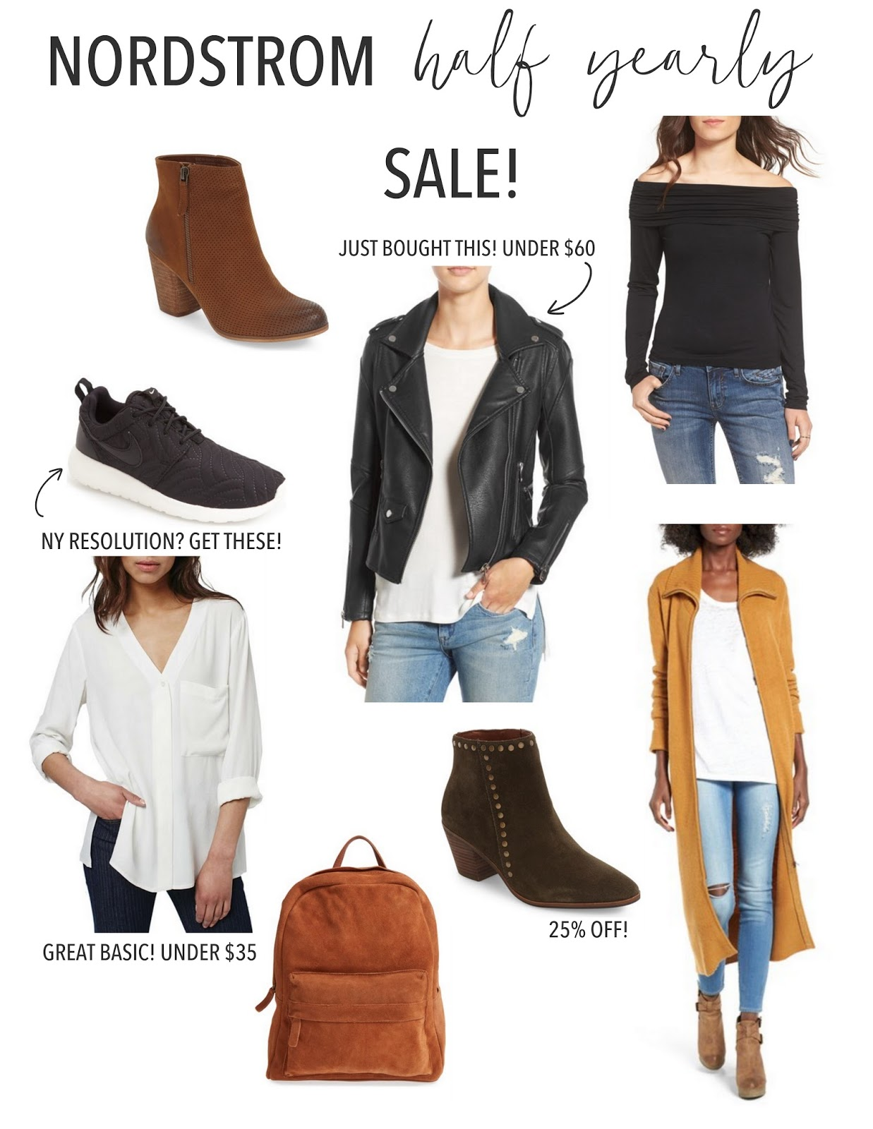 Nordstrom Half Yearly Sale - Booties, Clothing, Accessories