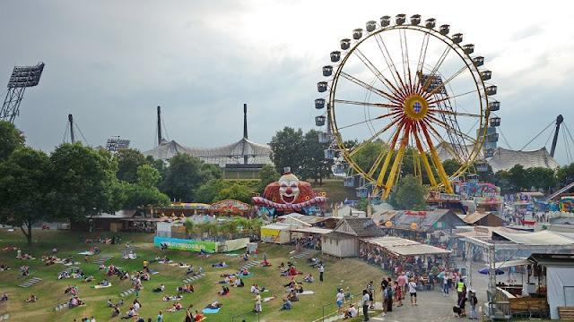 Sommerfestival Impark em Munique