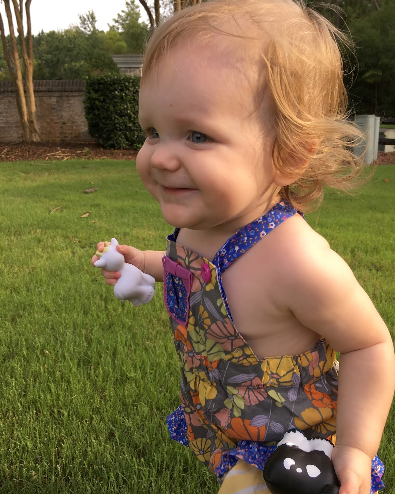 a3352a7b2c4 The first two items I got for Iris were dresses with coordinating diaper  covers. I picked a baby blue sundress to wear this summer and a deep red  dress with ...