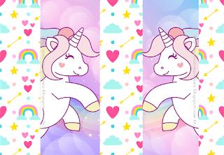 Bello Kit de Unicornio para Imprimir Gratis.