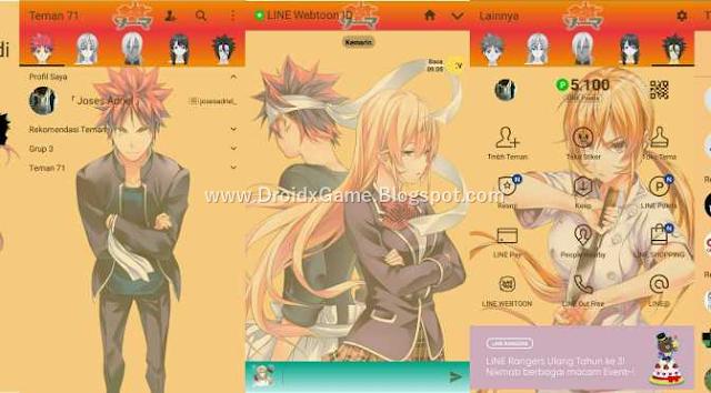 Download Tema Line Anime SHOKUGEKI NO SOMA