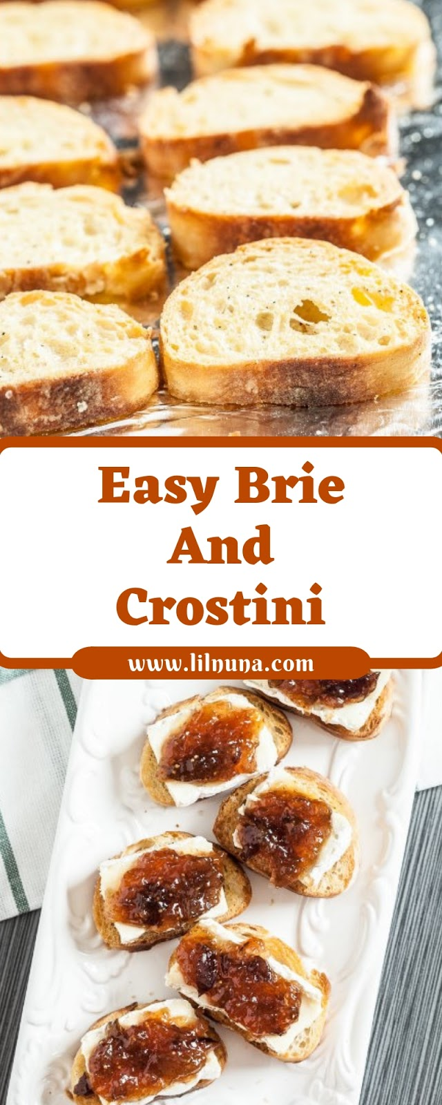 Easy Brie And Crostini