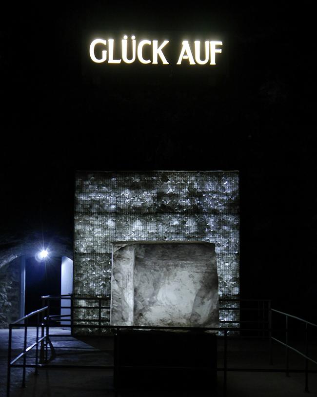 salt pit, Salzbergwerk, Bad Friedrichshall, Baden-Württemberg