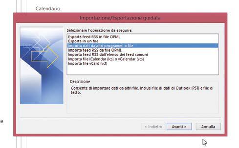 Importiamo i contatti Gmail in Outlook