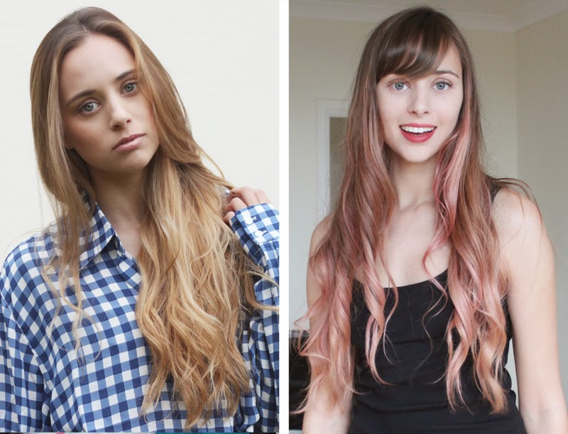 HOW TO BROWN TO PASTEL HAIR
