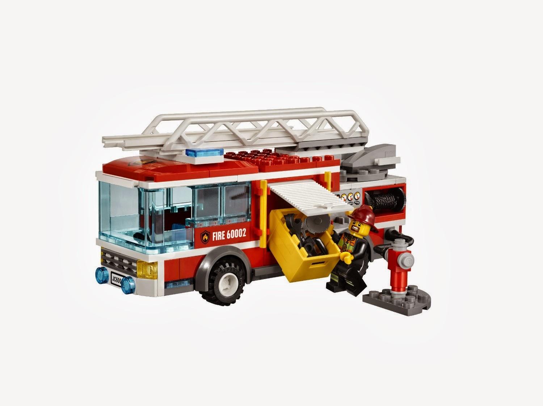 My Lego Style: LEGO City Fire Truck 60002
