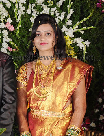 Telugu Bride Wedding Jewellery Jewellery Designs