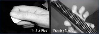 teknik belajar melodi gitar dasar khusus pemula
