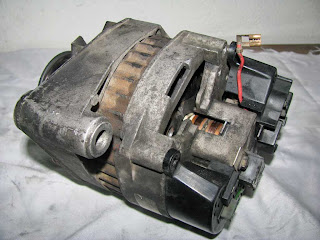 alternador Valeo 436193 regulador desmontado