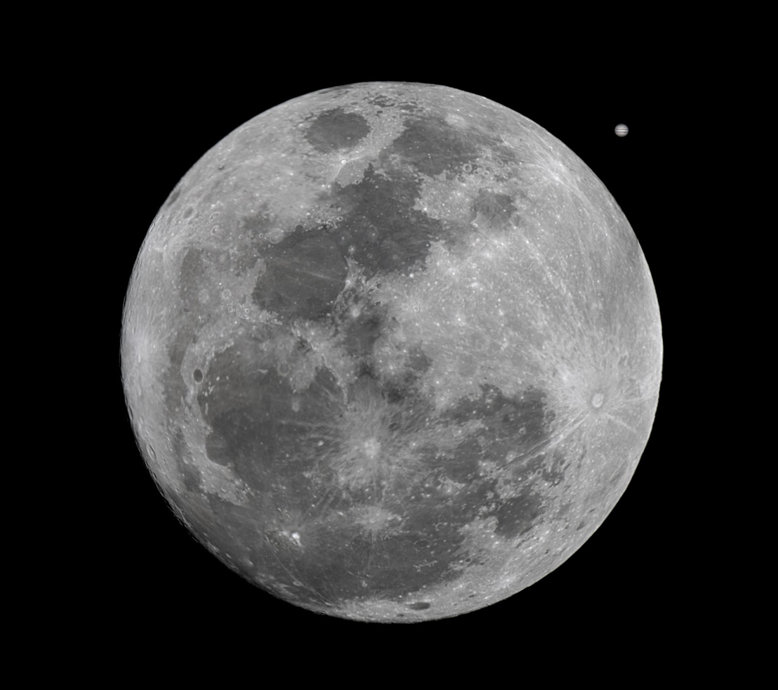 Stars, Open source and more: Moon for scale: Part 2