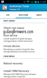 Cara Dual GSM Andromax C3 Custome Rom Asus Zenfone 5