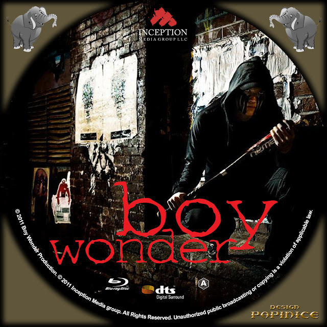 Boy Wonder Bluray Label