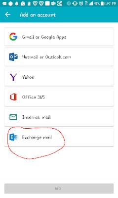 Cara setting email kantor di HP dengan aquamail