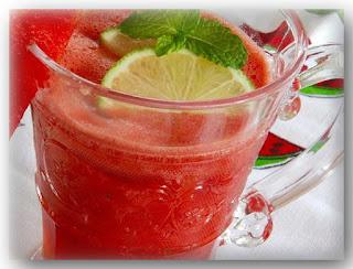 resep watermelon agua fresca semangka mint