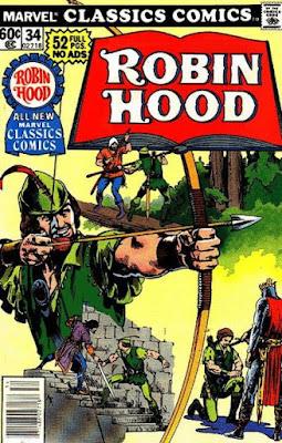Marvel Classics Comics #34, Robin Hood