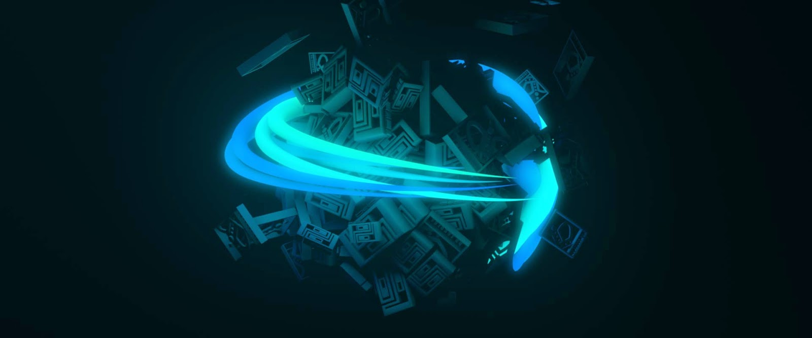 Motion Graphic Cinema 4d and AE Logo BpRecords BeiPe