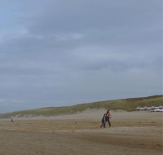 Clangers entry from An Imperfect Mum - on a beach