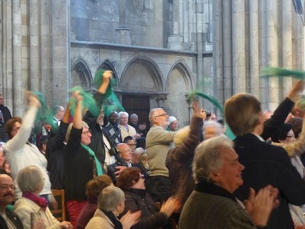 Les stéphanois à Rouen