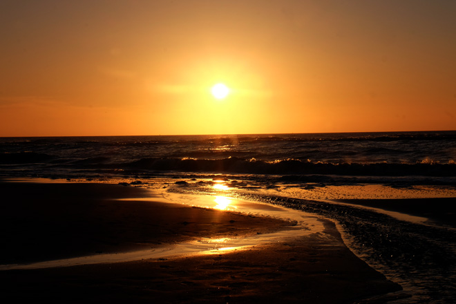Geburtstag, Meer, Minza will Sommer, Ein Tag am Meer, Ausflug ans Meer, Bett mit Meerblick, Nordseestrand, Nordsee, Niederlande, Holland, Sonnenuntergang, Abendstimmung