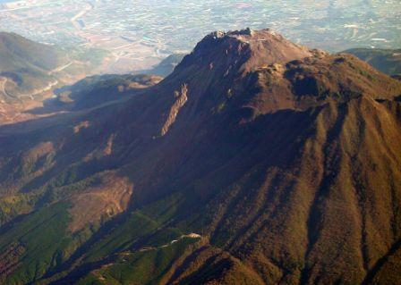 Gunung Api Unzen di Jepang