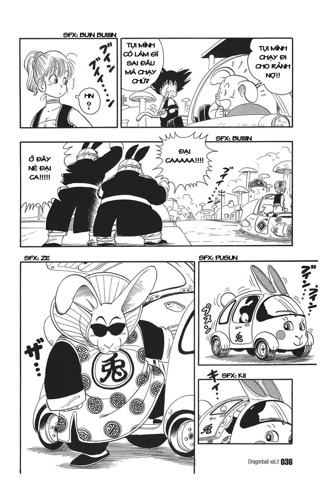 Dragon Ball chap 17 trang 4