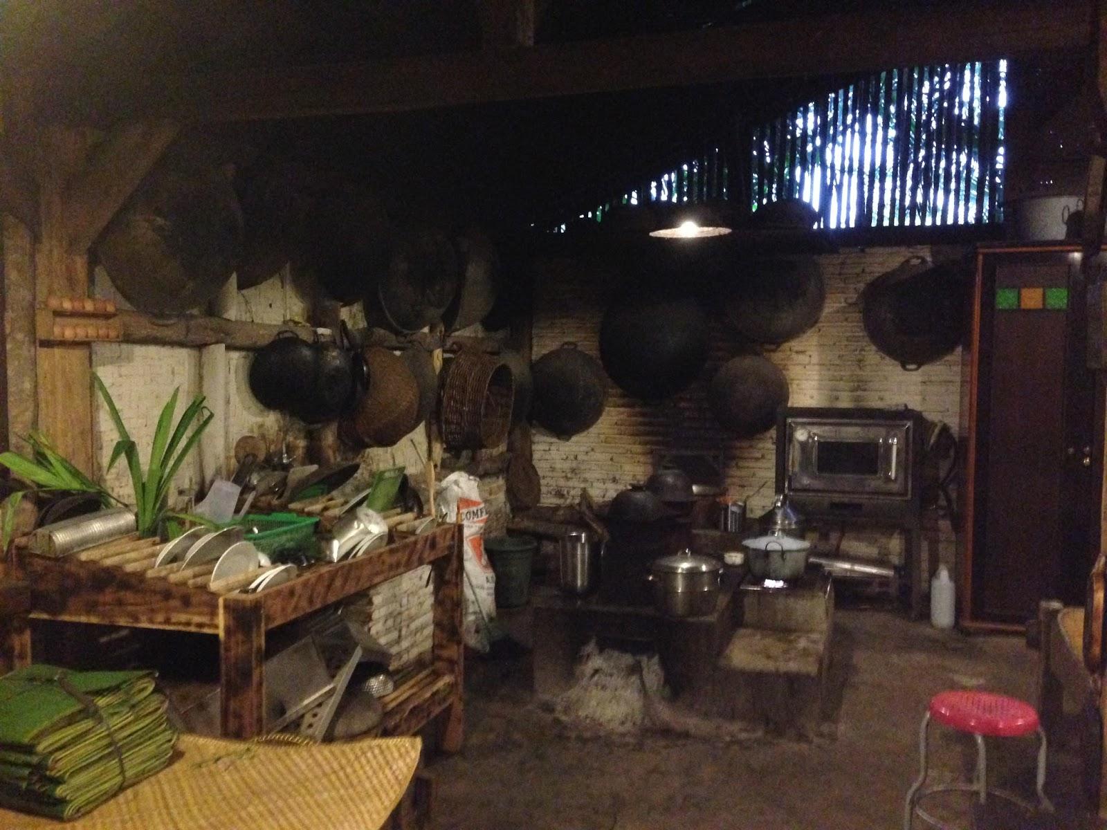 Dapur Interior Jadul Membuat Saya Teringat Kampung Di Ciamis