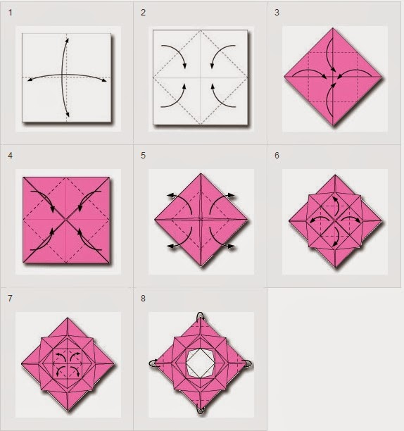 How To Make Origami Flower | Ask Home Design
