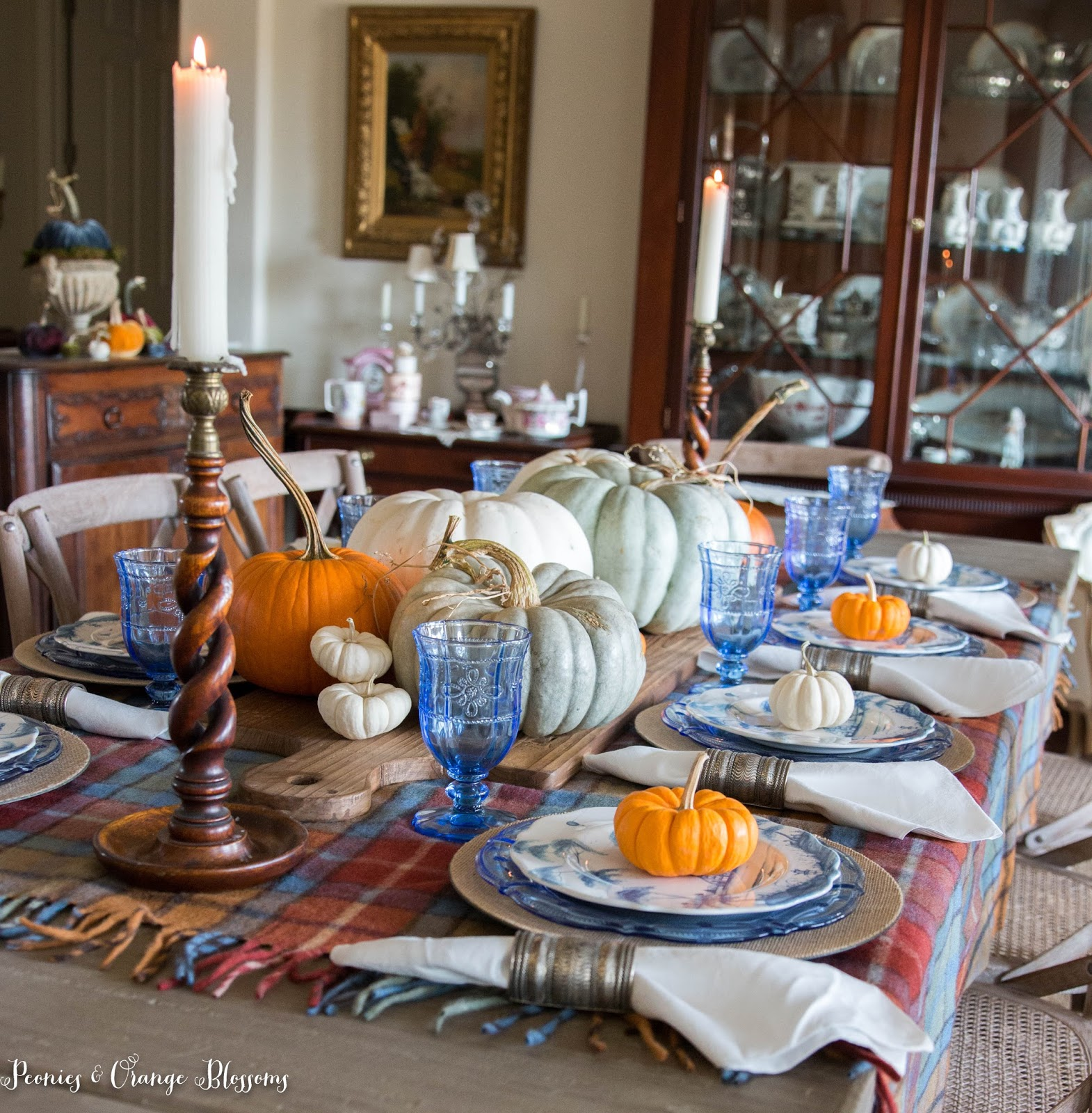 French Country Farmhouse Fall Decor A Fall Home Tour