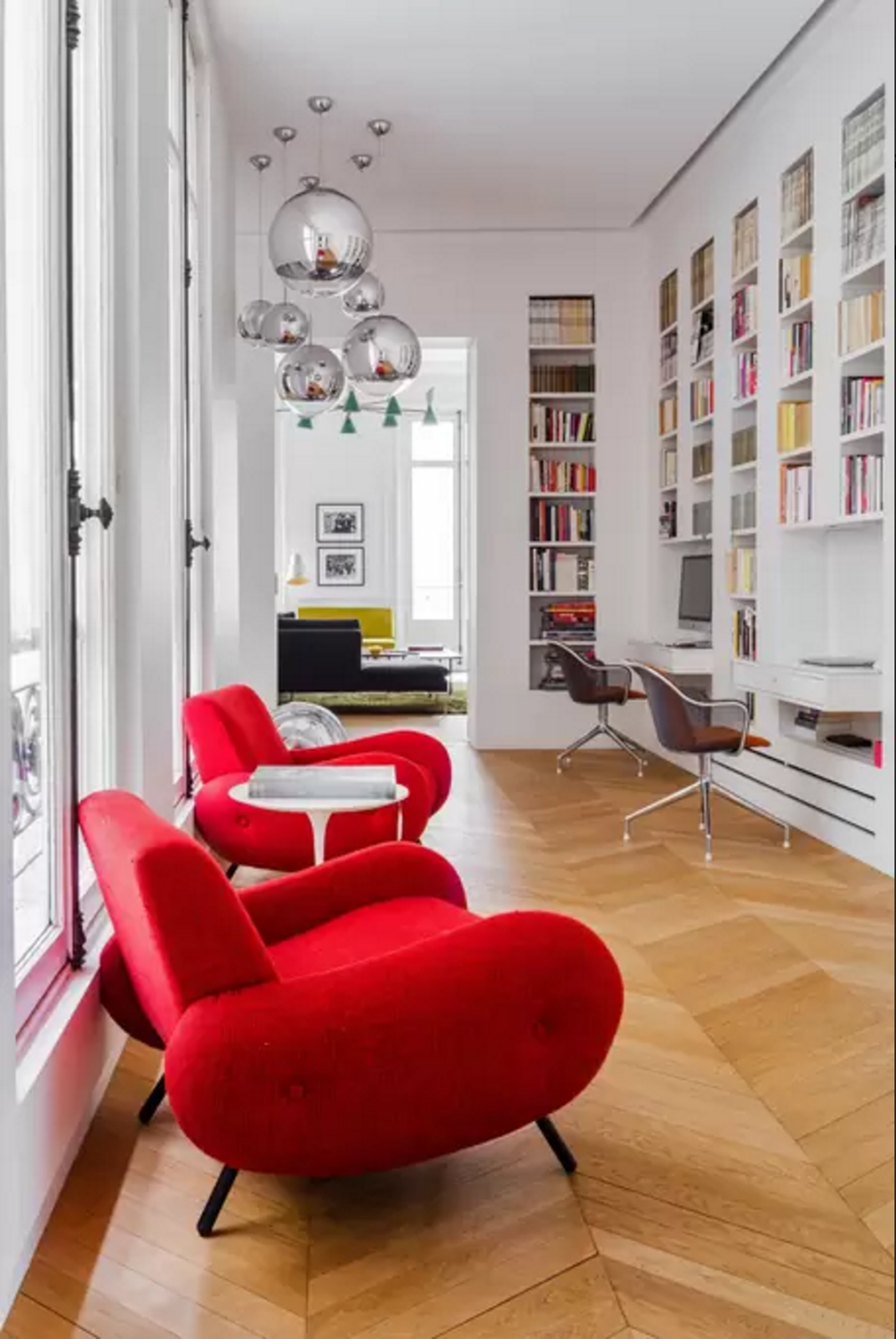 design attractor spectacular parisian apartment with mid