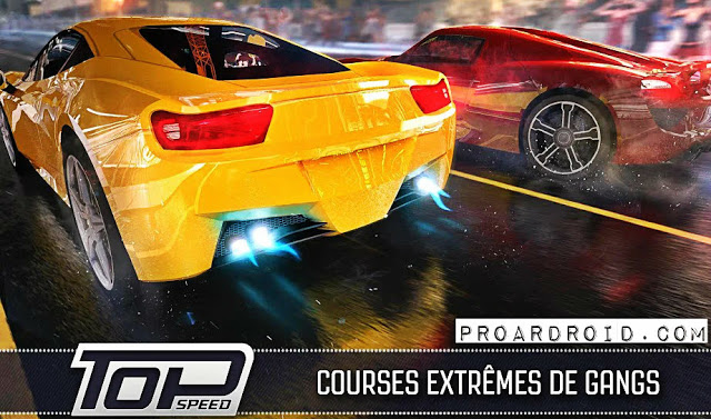 لعبة Top Speed: Drag & Fast Racing Mod