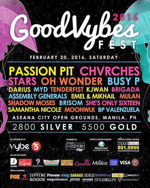 GoodVybes Fest 2016 poster