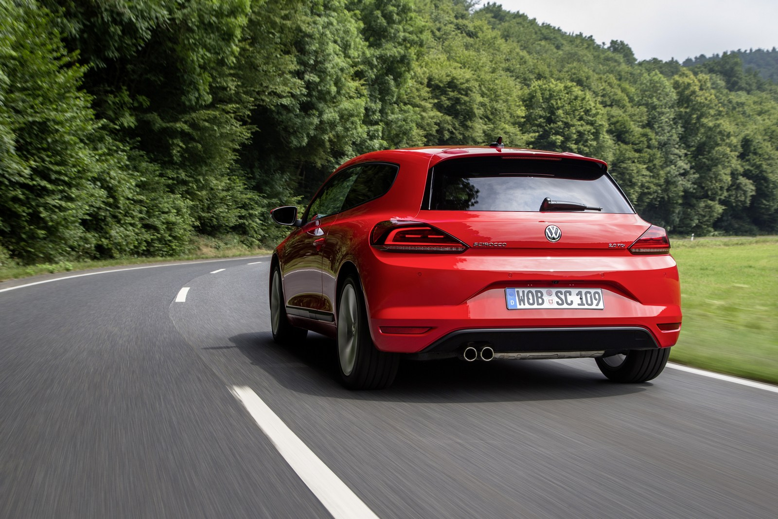 vw scirocco drives off into the sunset as company stops. Black Bedroom Furniture Sets. Home Design Ideas