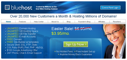 BlueHost - Best WordPress Hosting