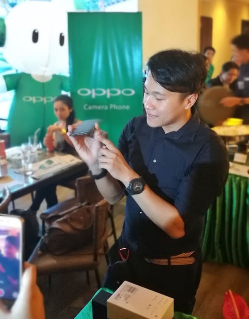 Eason de Guzman, Public Relations Manager of OPPO Philippines
