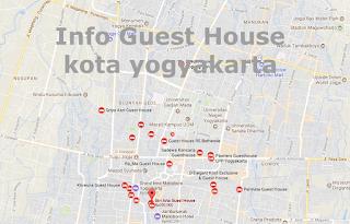 Nomer Telpone Guest House kota yogyakarta