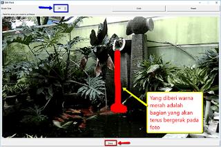 Langkah-langkah cara membuat foto unik Cinemagraph pada Windows dan Android