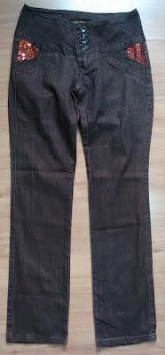 calça marrom Mix 42