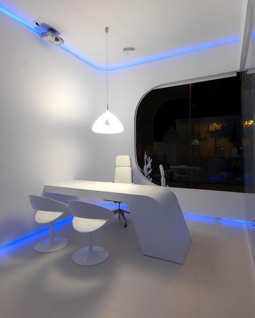 wonderful futuristic office desk   Elegant CEO Office Design - Wonderful
