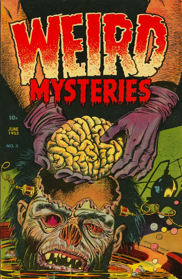 Images: Wonderful Collection Of Beautiful And Macabre Horror Comic Covers From The 1950's Through 1970's
