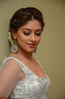 Anu Emmanuel in a Transparent White Choli Cream Ghagra Stunning Pics 069.JPG