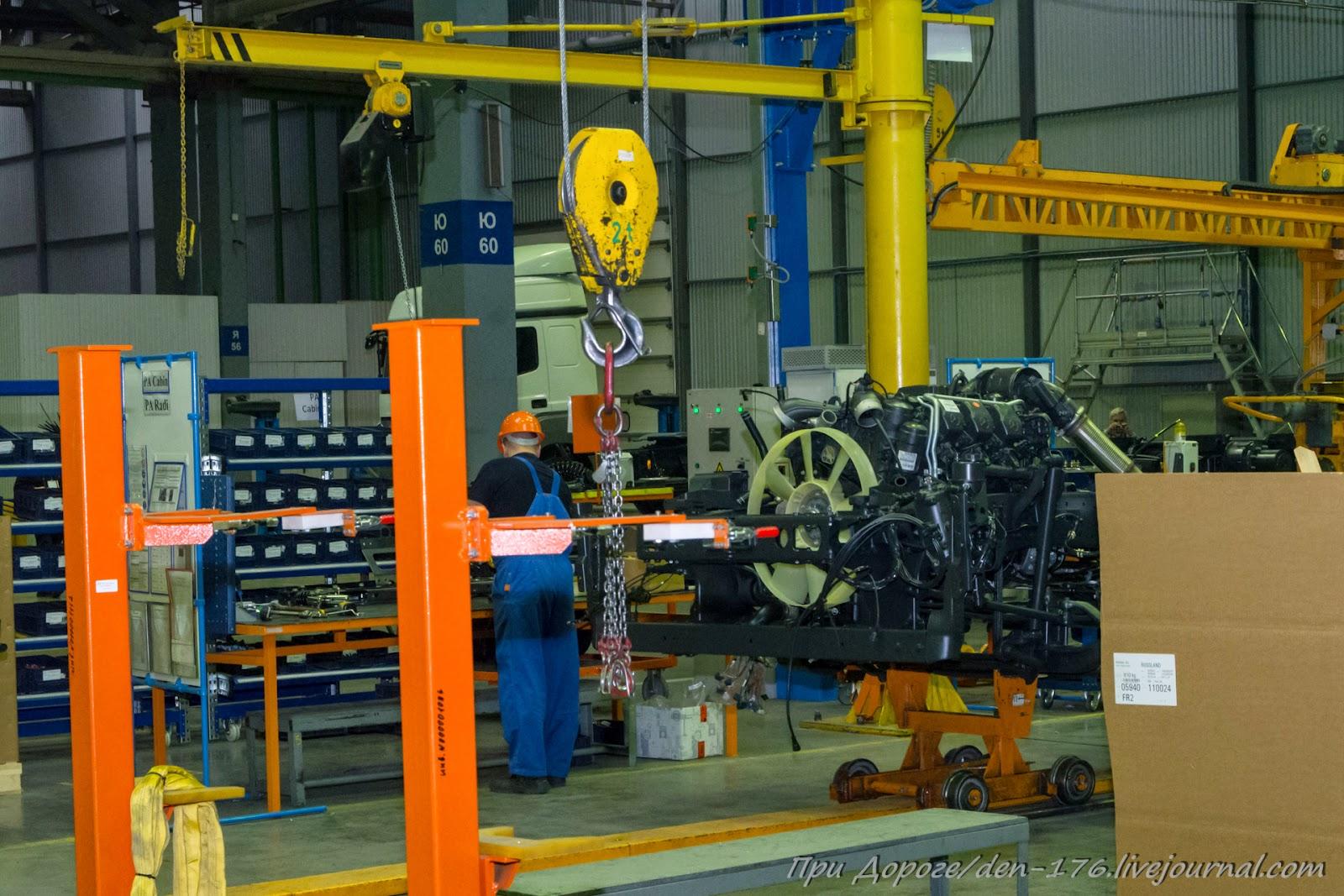 How to make MBTV 33 Mercedes Benz trucks in Naberezhnye Chelny